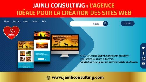 logo de Jainli consulting avec d'autres image
